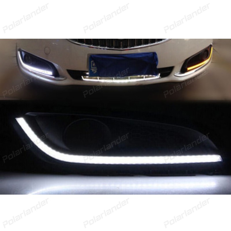 Car styling accessory  for B/uick R/egal 2013-2015 daytime running lights DRL daylight auto lamp
