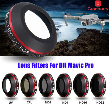 New For DJI Mavic Pro Drone Camera Lens Filters ND4 ND8 ND16 ND32 CPL UV HD Filter Mavic Pro Accessories