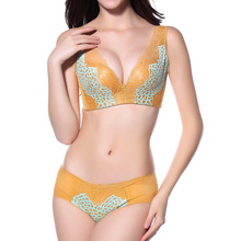 3 Colors A/B/C Women Patchwork Adaijustable Push Up Comfortable Seamless Bra Set Wire Free Underwear Intimates Lingerie 1218