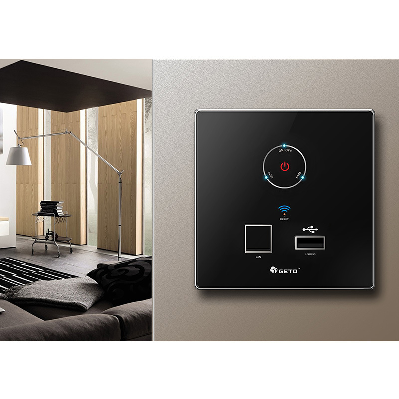 Comming Home Sohu Hotel Use Wall Mounted Mini Wireless Router+3G+AP+USB Charger Golden Black Silver White Sale - Linda and Retail Sotre store
