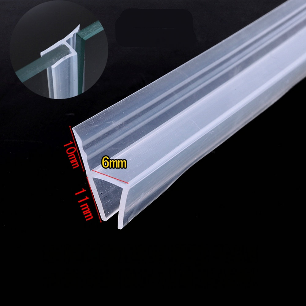 Weatherstrip Draft Stopper 6mm Glass Gliding Screen