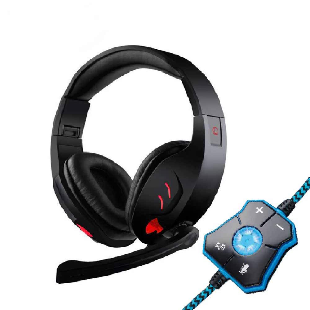 Computer Gaming headphones big High quality Deep Bass Computer Game earphone microphone LED headset PC Gamer over-ear headphone 1 pc high quality double bass bow 3 4 baroque bass bow snake wood