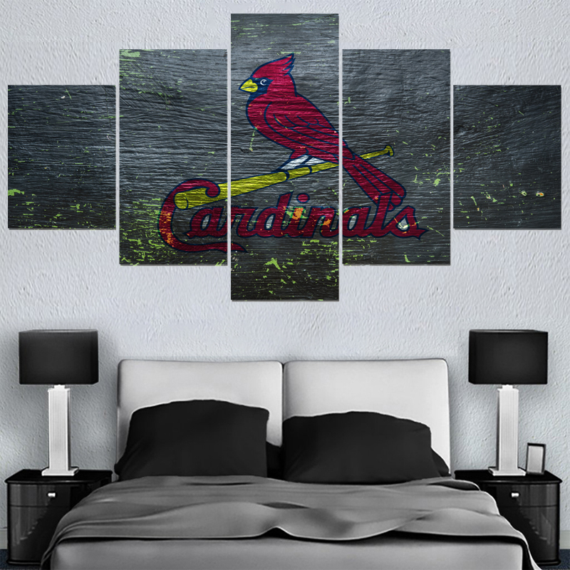 Animal Prints Sport St. Louis Cardinals Logo Paintings Wall Art Home Decor  Picture Canvas Painting Calligraphy For Living Room  In Painting U0026  Calligraphy ...