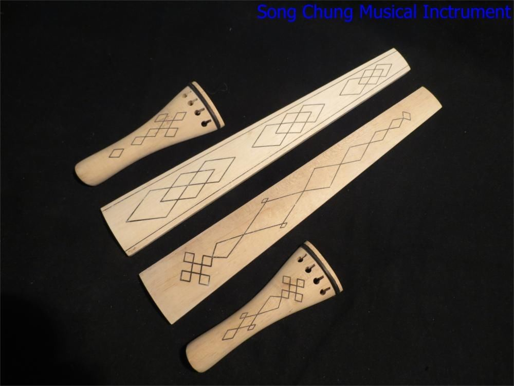 Sports & Entertainment Gentle 2sets Dissimilar Baroque Style Nature Maple 4/4 Violin Fingerboard /tailpieces Moderate Cost Musical Instruments