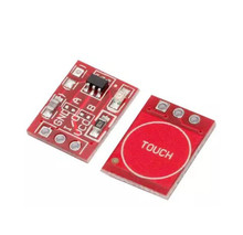 10pcs NEW TTP223 Touch button Module Capacitor type Single Channel Self Locking Touch switch sensor