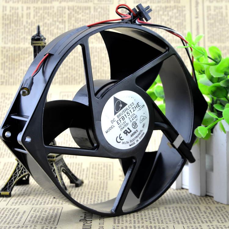 Free Delivery. 17238 170 * 150 * 3812 v fan industrial computer high-speed fan EFB1512HE server