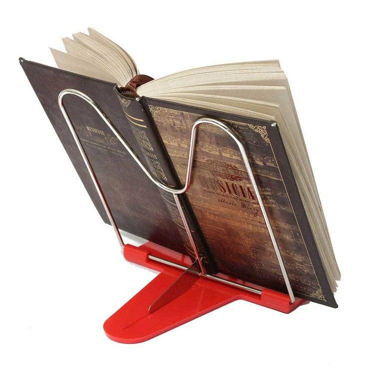 Online Shop Book Stand 2015 Portable Adjustable Steel Book