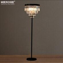 Lustres Standing Floor Light Fixture Vintage Crystal Lamp Cristal Candelabra Stand Lighting Lampadaire De Salon Sur Pied