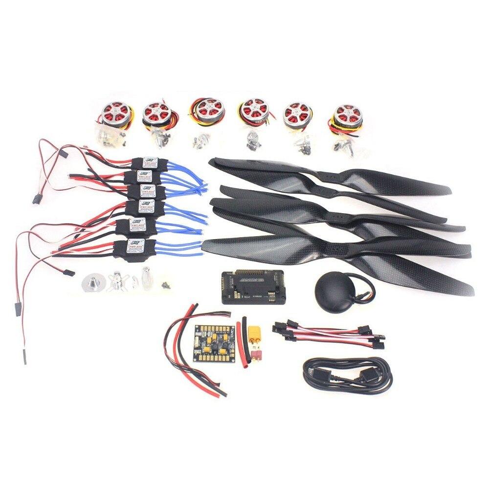 F05423 K Newbie kits 350KV Motor 40A ESC 1555 Props APM2 8 GPS for 6 Aix