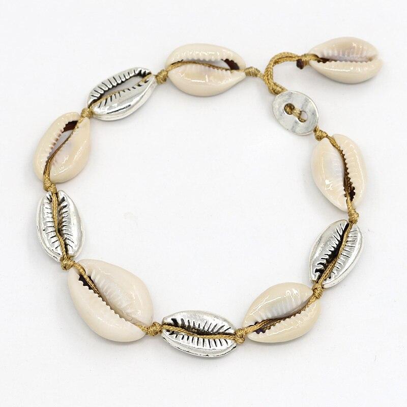 Boho perles pompons Bracelet Bracelet Sandale Été Plage cheville chaîne femmes Bijoux