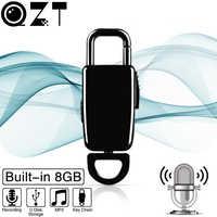 Мини брелок для записи 8 Гб HD шумоподавление цифровой Профессиональный диктофон USB диктофон MP3-плеер