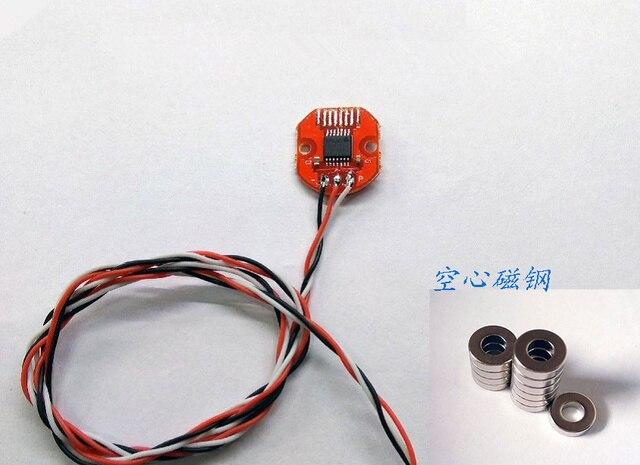 Кодовый диск AS5048A Магнитный кодировщик PWM/SPI интерфейс точность 14bit бесщеточный держатель мотор 360 контактный угол датчик положения