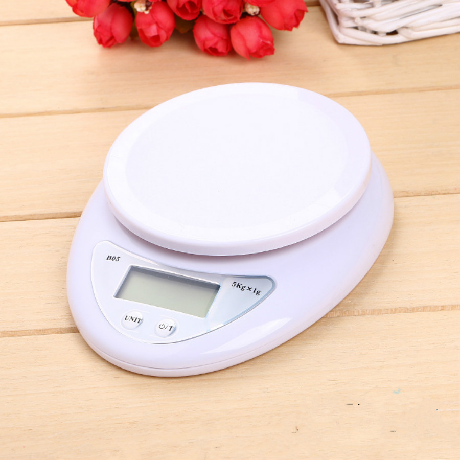 NEW 5000g/1g 5kg Food Diet Postal <font><b>Kitchen</b></font> Scales Digital scale balance weight <font><b>LED</b></font> electronic scale B05