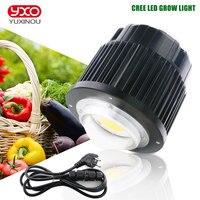 CREE CXB3590 100 W COB гражданский светодиодный свет для выращивания полного спектра 12000LM = HPS 200 W светодиодные лампы растущий для гидропоники лампа д...