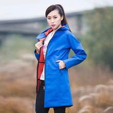 Women sport jackets waterproof jacket women soft shell roupa termica feminina hiking wandelen fleece senderismo mujer