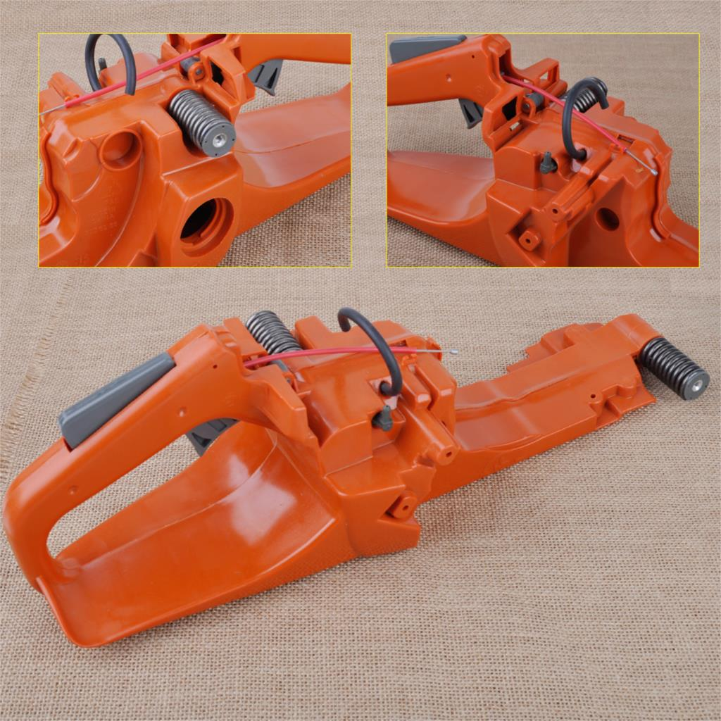 LETAOSK Gas Fuel Tank Back Rear Handle Assembly Fit for Husqvarna 362 365 371 372 Chainsaw