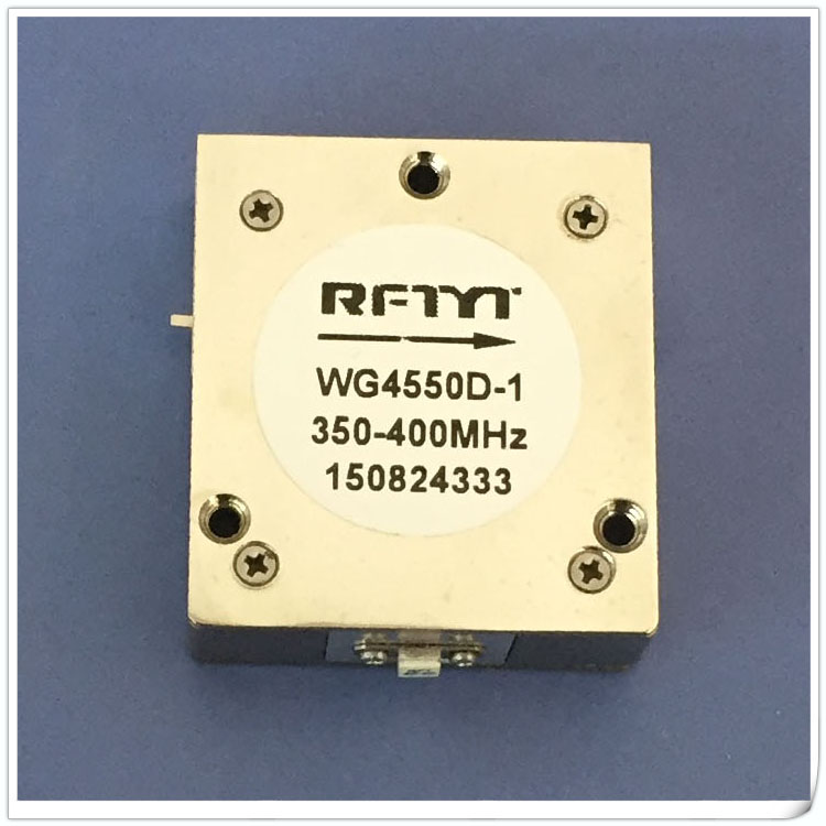 300MHz-800MHz Range UHF High Power Embedded RF Isolator 45*50*13mm