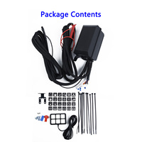 Accessory ABS DC 12V Power Switch Panel Mounting Bracket Relay Control Box Wiring Harness Vehicle 6 Switch New