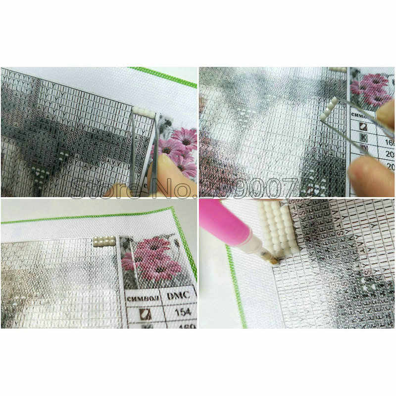 5D bricolage diamant broderie nouveau mosaïque moineau de salon stickers muraux broderie diamant plein diamant peinture animaux