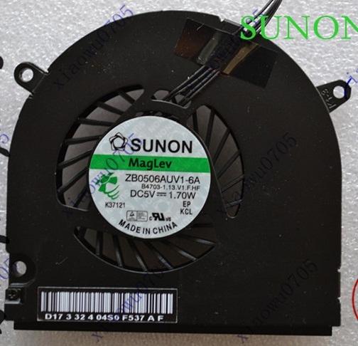 """NOVO Ventilador CPU para Macbook Pro 13 """"Unibody A1278 A1280 A1342 laptop Ventilador de Refrigeração da CPU"""