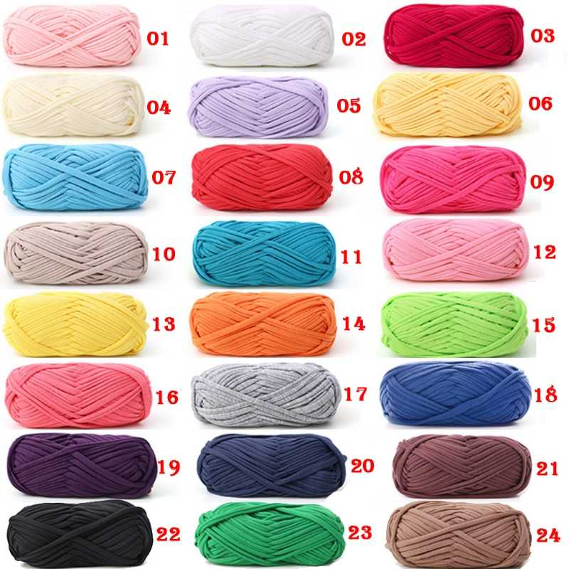 100g Woven Thread Cotton Cloth Wool Yarn Hand Knitting Yarn Crocheted Blanket Soft