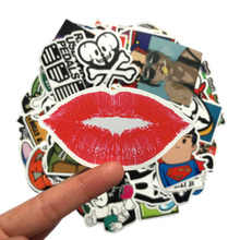 200Pcs set Fashion Mixed Patterns For Kids Luggage Laptop Home Decal Sticker Decor Skateboard Fridge Cute