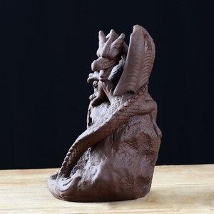 Image 5 - Hot Ceramica Riflusso Bruciatore di Incenso Censer Possessore di Incenso del Drago Bruciatore di Home Office Sala Da Tè Tavolo Scrivania Decora Complementi Arredo Casa