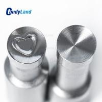 CandyLand Heart Logo Press Tool Punch Die Sets Candy Salt Milk Sugar TDP0 TDP1.5 Pill Maker Mould TDP0/5 Making Machine Mold