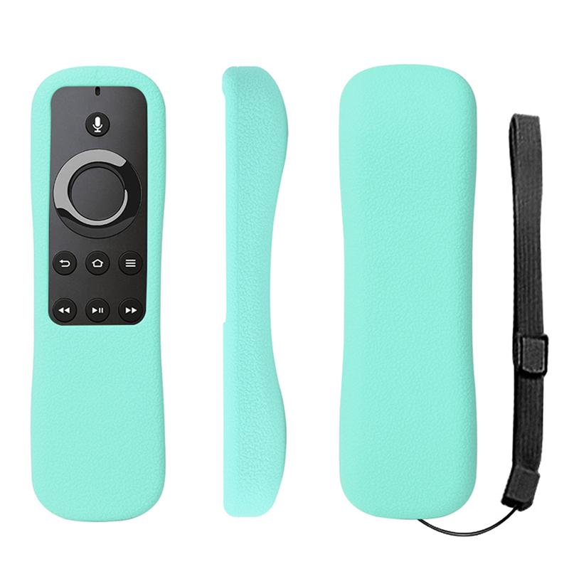 5Color For Amazon Fire TV Stick Voice Remote Protection Shell Soft Case Anti Slip Shock Proof Silicone Remote protective case