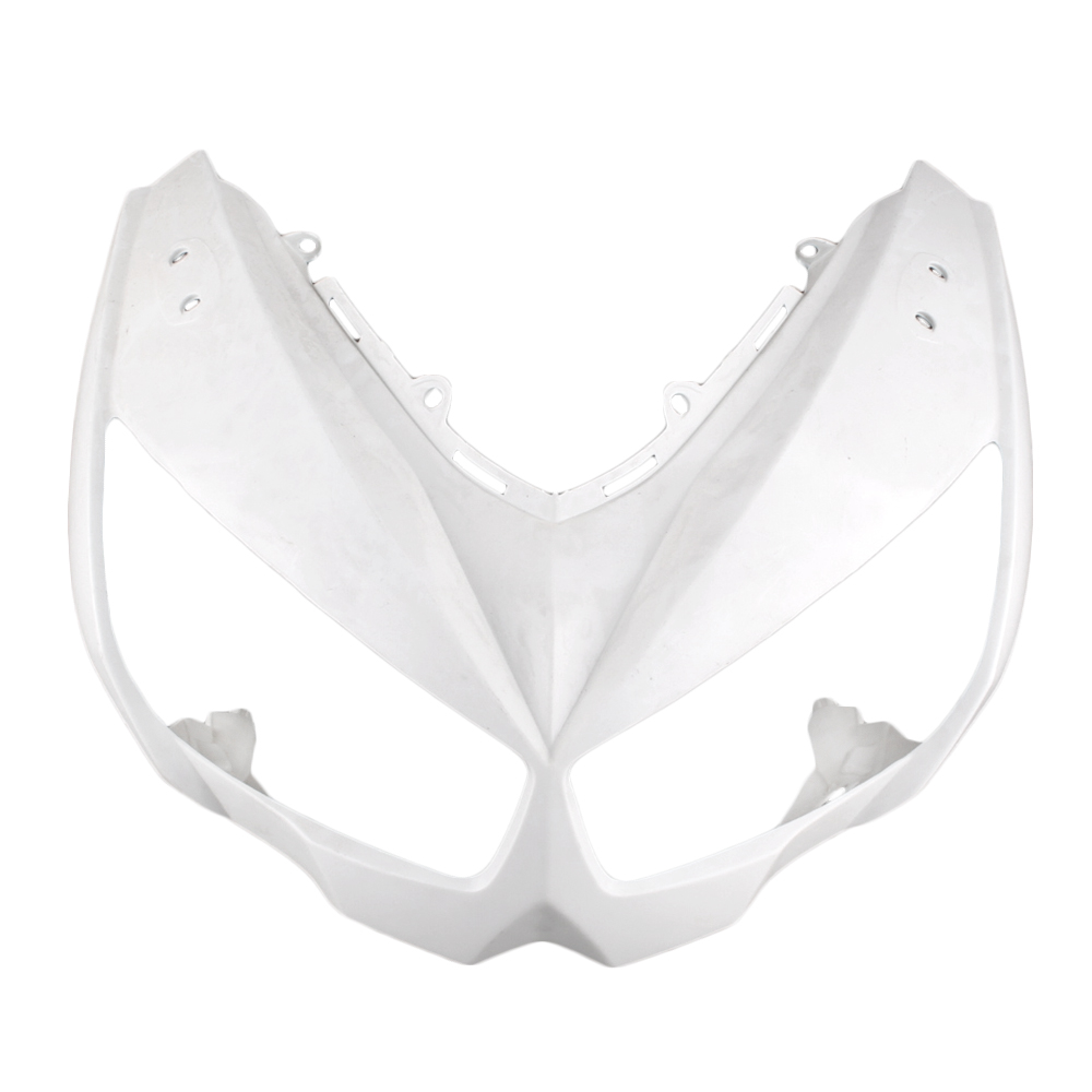 For Kawasaki Z1000 Upper Front Nose Fairing Cowl 2010 2011 Motorbike Part Accessories Injection Mold ABS Plastic Unpainted WhiteFor Kawasaki Z1000 Upper Front Nose Fairing Cowl 2010 2011 Motorbike Part Accessories Injection Mold ABS Plastic Unpainted White