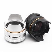 Kaxinda 14mm F3.5 와이드 앵글 수동 프라임 렌즈 소니 후지 필름 올림푸스 캐논 파나소닉 미러리스 카메라 f/3.5