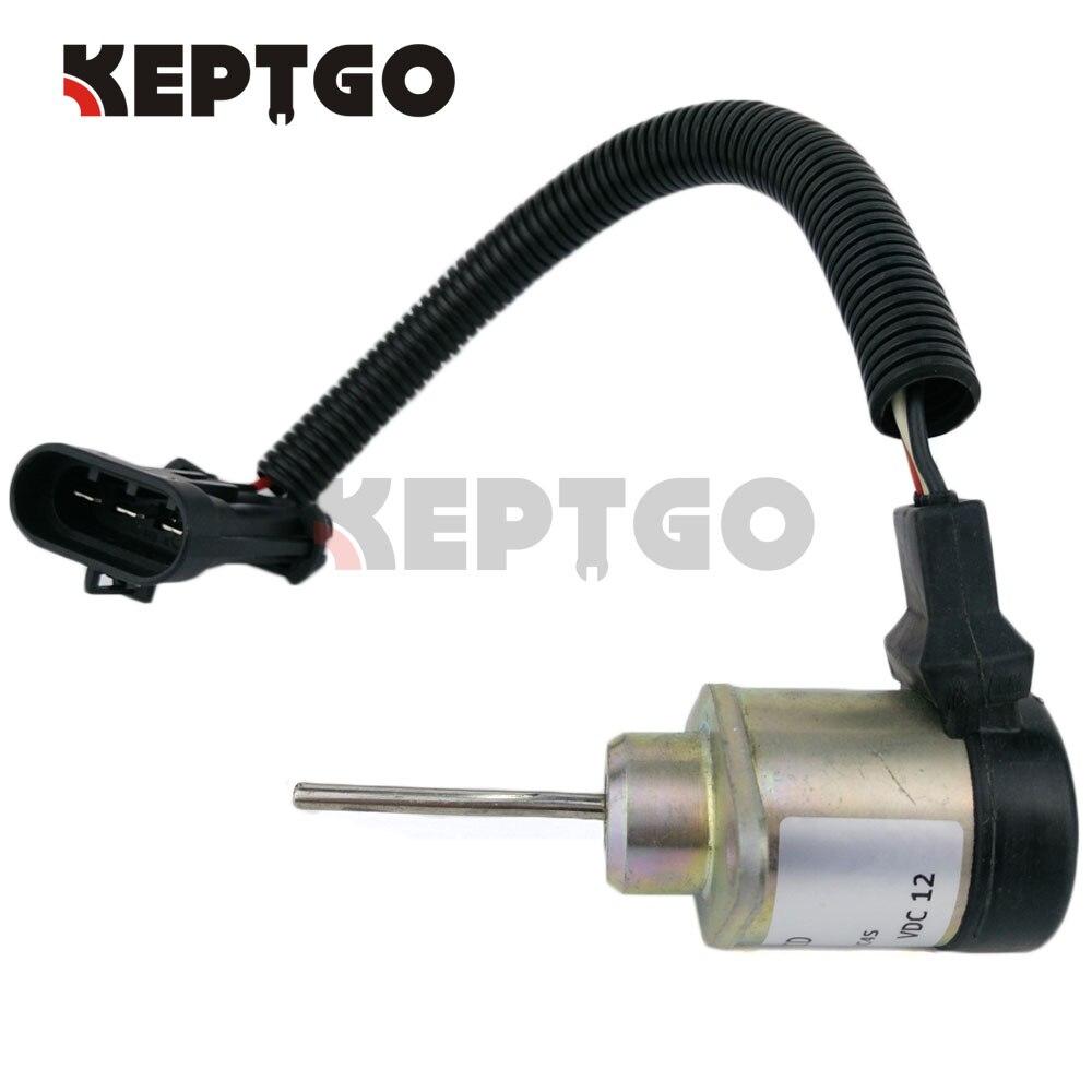 Fuel Shutoff Solenoid 7000769 12V For Bobcat T180 T190 T550 T590 T630 T650
