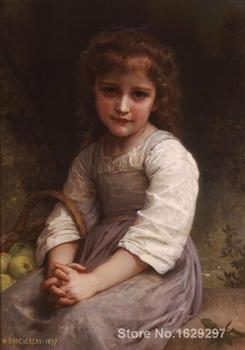 Apples Paintings by William Adolphe Bouguereau impressionist art High quality Hand painted