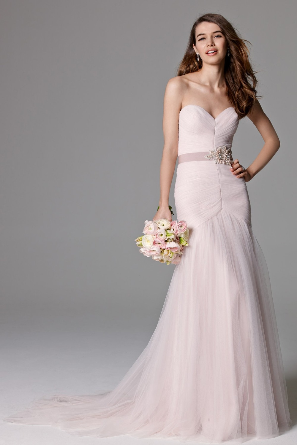 Pale pink wedding dresseswedding dressesdressesss pale pink wedding dresses junglespirit Images