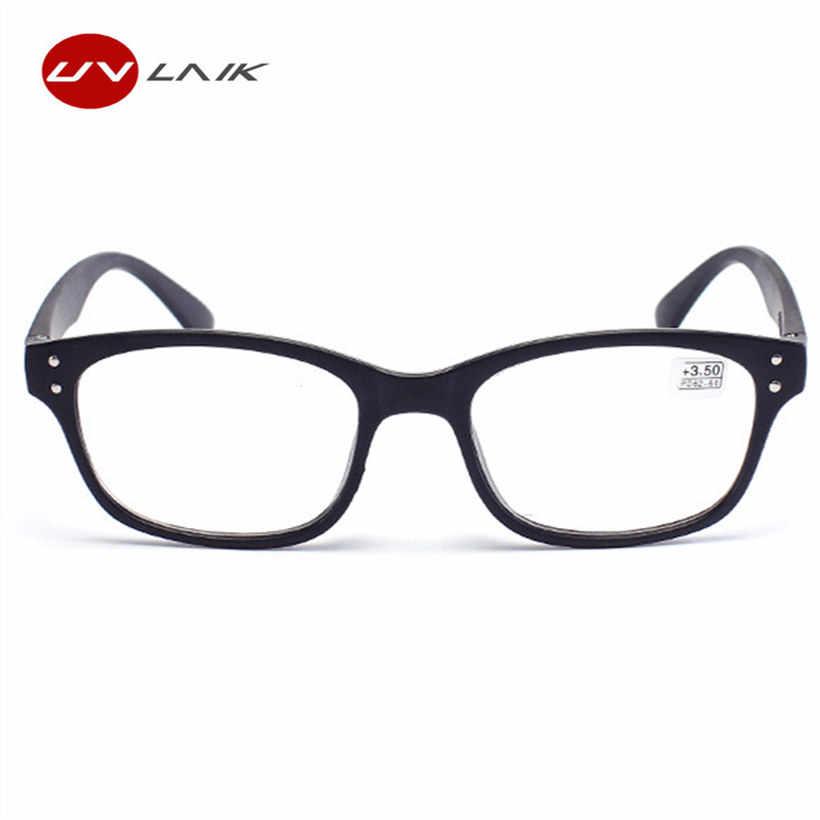 8cf5e04d54f ... UVLAIK Reading Glasses Women Men Ultralight Resin Lenses Elderly TR90 Presbyopic  Eyeglasses Diopter 1.0 1.5 2.0 ...