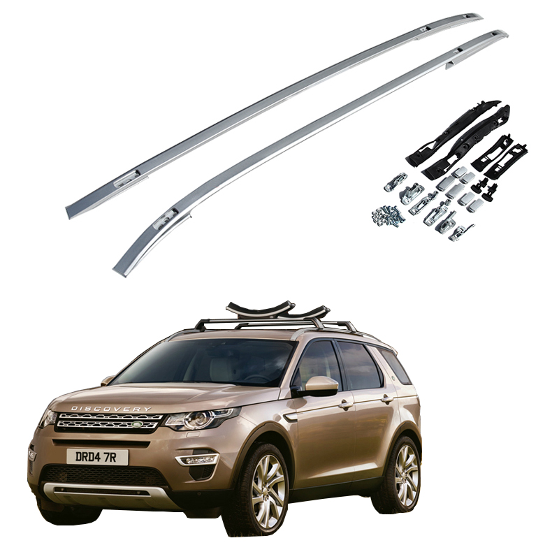 for land rover discovery sport 2015 2017 roof rack rails bar luggage carrier bars top cross. Black Bedroom Furniture Sets. Home Design Ideas