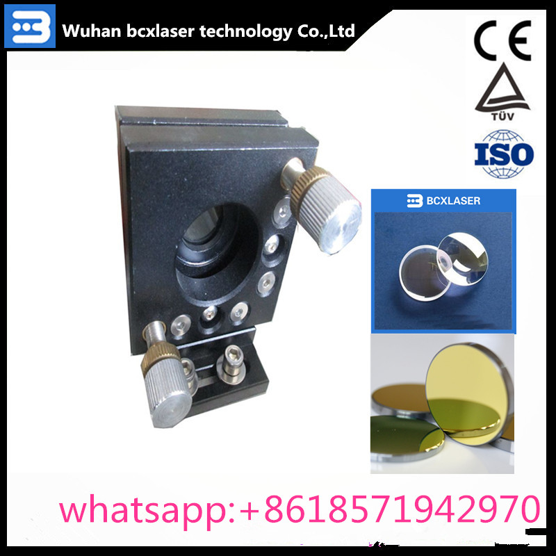 high quality CO2 laser set lase head reflective Mo mirror 25mm  focus focal lens 20mm for co2 laser engraver machine