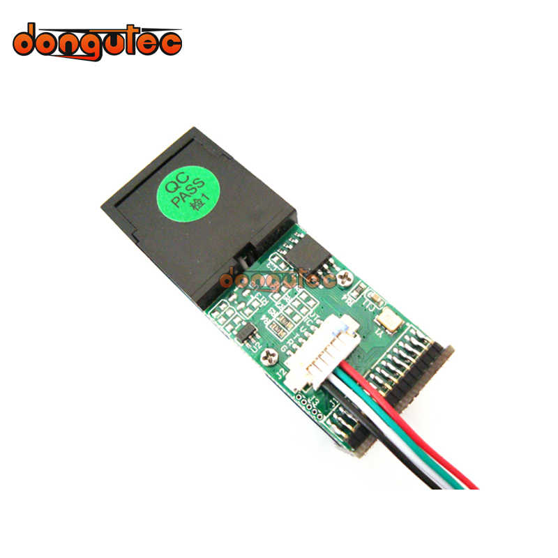 Raspberry Pi UART Interface Fingerprint Recognition Module Optical Fingerprint Module Fingerprint Sensor Two Times Development