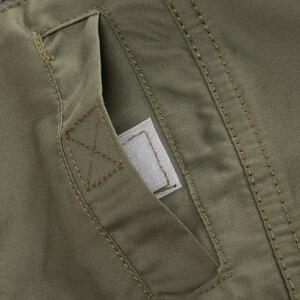 Image 4 - Magcomsen 2019 Zomer Shirts Mannen Lange Mouwen Katoen Militaire Stijl Leger Shirts Ademend Jurk Shirts Voor Mannen Kleding GZDZ 11