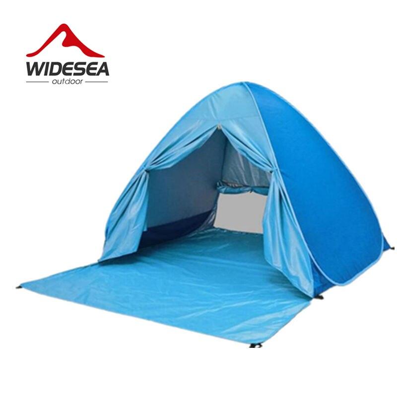 Widesea пляж палатка Pop Up открыть 2-3 человек SunShelter дети растут палатка УФ-защита Быстрый automotic открытым крытый или открытый кемпинг