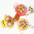 [PCMOS] Cardcaptor Sakura Sailor Moon Star Magic Stick Formas Bonito Brinquedo de Pelúcia Boneca Pingente de Pelúcia Saco Chave Encantos T1439
