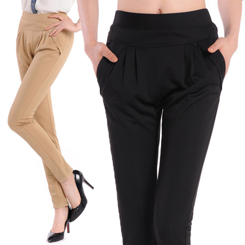 womens black work pants - Pi Pants