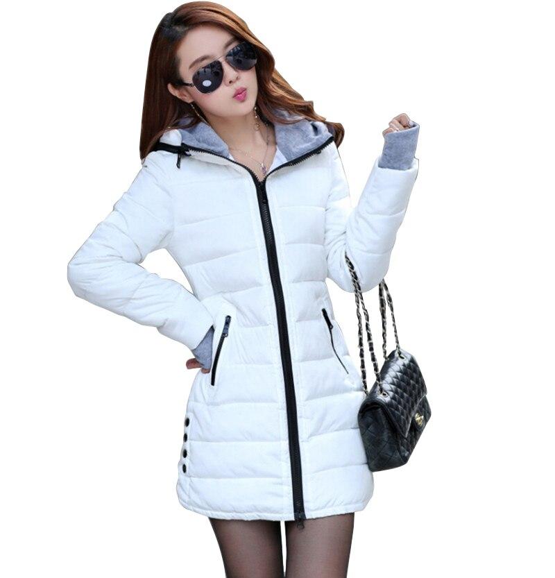 a08b463cec Wadded Jackets 2017 Female New Women's Winter Down Jacket Cotton ...