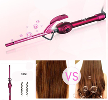 Curling Irons Short Hair Bangs Style Multi-Function Dry And Wet Ceramic Glaze Surface Care 110-240V 25-60W PTC Heating