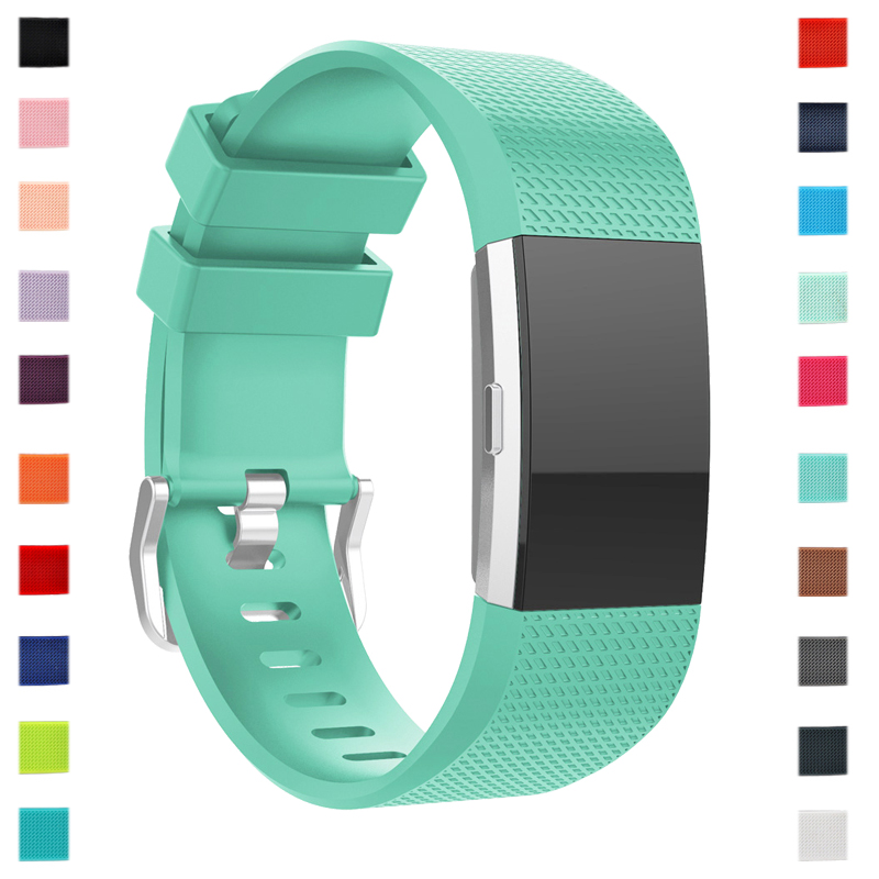 Top Quality Wrist Strap For Fitbit Charge 2 Watch Band Fitness Tracker Bracelet Soft Strap For Fit Bit Charge2 Smart Accessories