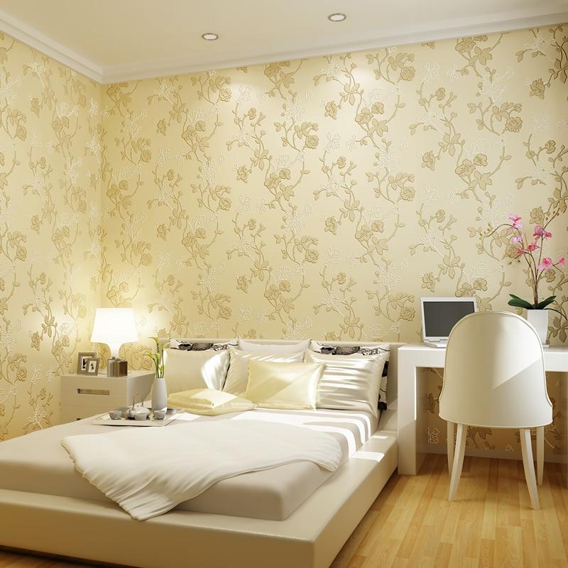 Европейский стиль нетканые обои теплых и 3D трехмерные современные гостиной диван фон обои