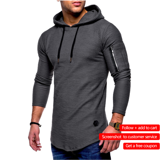 Men's Bamboo Fiber   T     Shirt   Men's Spring Summer   T  -  Shirt   Top Men's Long Sleeve Cotton   T  -  Shirt   Bodybuilding Folding   T  -  Shirt   Men