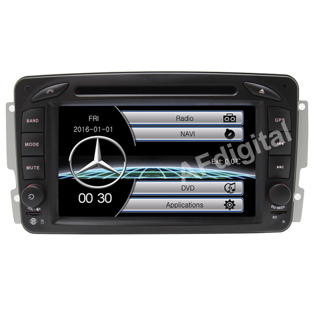 Wholesale Two Din 7 Inch Car DVD Player For Mercedes Benz CLK W209 W203 W168 W208
