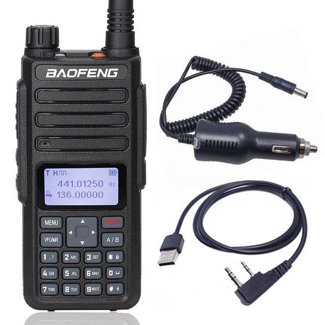 Slot de Nível I II tier2 DM 860 Digital Walkie Talkie Baofeng Dual Band Repetidor Compatível para Motorola DMR em Dois Sentidos portátil rádio