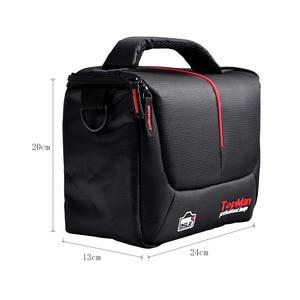 Image 5 - fosoto Camera bag Should Bags Digital photography Photo DSLR Camera Video Nylon Cave For Dslr Sony Canon Nikon D700 D300 D200
